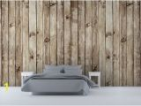 Wooden Planks Wall Mural soft Wood Wallpaper Wood Panel Effect