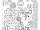 Woodland Creatures Coloring Pages Wildlife Coloring Pages Printable Woodland Animals forest F