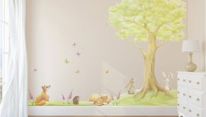 Woodland Fairy Wall Murals Fairy Tree Decal Tree Decals Tree Wall Sticker Tree Decal