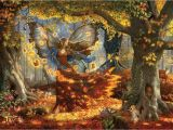 Woodland Fairy Wall Murals Woodland Fairy 1500pc Jigsaw Puzzle by Sunsout