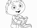 Woofster Coloring Pages Imagination Woofster Coloring Pages Hurry Super why Best for Kids