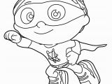 Woofster Coloring Pages Perspective Woofster Coloring Pages Super why Fresh Best Hd