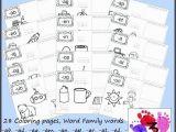 Word Coloring Page Generator Kindergarten Sight Word Worksheets Words Reading Writing Free