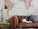 World Executive Wall Map Mural World Map Wallpaper Home Decor Living Room Study Map Of the World Wall Decal Wallpaper Bedroom Home World Map Mural Free Shipping
