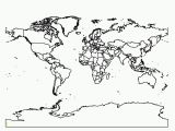 World Map Coloring Pages to Print Printable Blank World Map Coloring Page Coloring Home