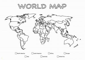 World Map Coloring Pages to Print Printable Giant Coloring Poster – World Map Continents