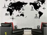 World Map Wall Mural Decal Amazon Poster Letter World Map Quote Scratch Map Vinyl