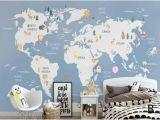 World Map Wall Mural for Nursery Pinterest – Пинтерест