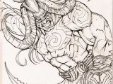 World Of Warcraft Coloring Pages Inktober Illidan by Rafater On Deviantart
