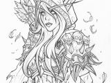 World Of Warcraft Coloring Pages Pin by Azshanalia On More World Of Warcraft