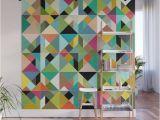 World Wide Wall Murals Buy Tangram Geo Multi Wall Mural by Sharonturner Worldwide