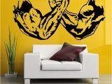 Wrestling Wall Mural Venom Marvel Vs Bane Dc In An Arm Wrestling Match Art Canvas