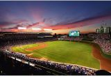 Wrigley Field Wall Mural Baseball Stadium Wallpaper Murals Amazing Wrigley Field Wall Mural