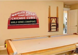 Wrigley Field Wall Mural Wrigley Field Daytime Marquee Wall Mural Graphic by Bigwalldecals
