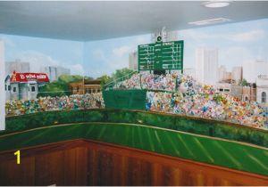Wrigley Field Wall Mural Wrigley Field Wall Mural Myshindigs