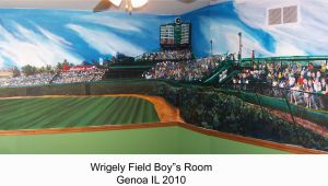 Wrigley Field Wall Mural Wrigley Field Wall Mural Myshindigs