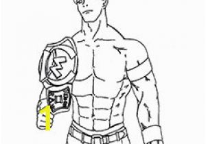 Wwe Coloring Pages Of John Cena Wwe John Cena Printable Coloring Pages