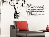 Wwe Wall Murals John Cena Vinyl Wall Stickers Wwe Inspirational Quote Wall Decals