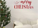 Xmas Wall Murals Christmas Wall Decal Merry Christmas Holiday Vinyl Stickers for