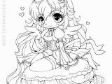 Yampuff Food Coloring Pages Chibi Girl Coloring Pages Awesome Coloring Pages for Girls Lovely
