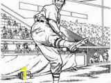 Yankees Baseball Coloring Pages Yankee Batter Baseball Coloring Page Purple Kitty