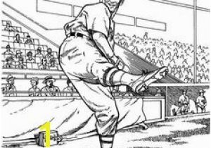 Yankees Baseball Coloring Pages Yankee Batter Baseball Coloring Page Purple Kitty