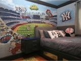 Yankees Wall Mural Chillin with the Yankees and the Clearest Boss Ever Morgan Mural
