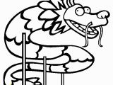 Year Of the Dragon Coloring Page Chinese Dragon Coloring Page