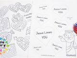 Yes Jesus Loves Me Coloring Page Bible Verse for Kids Archives the Crafty Classroom