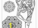 Yoga Poses Coloring Pages Resultado De Imagen Para with Yoga Poses and Mandalas