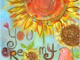 You are My Sunshine Wall Mural You are My Sunshine by Oopsy Daisy