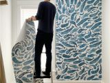 Young House Love Wall Mural How to Install A Removable Wallpaper Mural