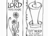 Your Word is A Lamp Unto My Feet Coloring Page 37 Best Traceable Art for Journaling Bibl Images