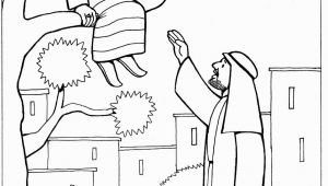 Zacchaeus In the Bible Coloring Page Zacchaeus Encounters Jesus Coloring Page Sundayschoolist