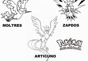 Zapdos Pokemon Coloring Pages 13 Fresh Moltres Coloring Pages Collection