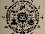 Zelda Wall Mural Gate Time Wall Sticker Legend Of Zelda Vinyl Decal Removable