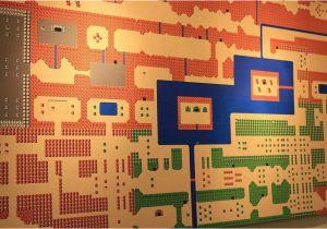 Zelda Wall Mural Huge Over 4 Foot Long Wall Mural Of Zelda for the Nes Map