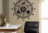 Zelda Wall Mural Legend Of Zelda Wall Vinyl Decal Gate Time Wall Sticker Home