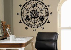 Zelda Wall Mural Legend Of Zelda Wall Vinyl Decal Gate Time Wall Sticker Home