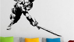 Zelda Wall Mural Princess Zelda Wall Vinyl Sticker Legend Of Zelda Video Game Decal