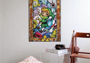 Zelda Wall Mural Zelda Wind Waker Wind Waker Gold Artwork