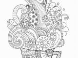 Zen Doodle Coloring Pages Printable Coloriage Zen