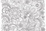Zen Doodle Coloring Pages Printable Zentangle Art Coloring Page for Adults Printable Doodle