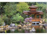 Zen Garden Wall Mural Chinese Zen Garden Pagoda Wall Mural