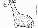 Zoo Animal Coloring Pages for Preschool Animals Coloring Pages for Kids Giraffe Coloring Pages for