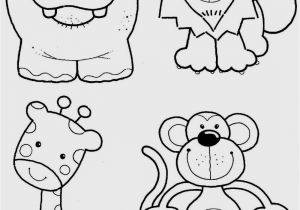 Zoo Animal Coloring Pages for Preschool Free Coloring Pages for toddlers