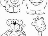 Zoo Animal Coloring Pages for toddlers Animal Coloring Pages 14