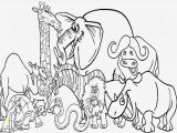 Zoo Animal Coloring Pages for toddlers Cute Zoo Animal Coloring Pages Kids Coloring Pages