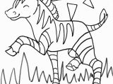 Zoo Animal Coloring Pages for toddlers Zebra Coloring Pages Free Printable Kids Coloring Pages